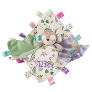 Personalised Flora Fawn Character Taggie Baby Girl Comforter