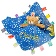 Personalised Taggies Starry Night Baby Comforter