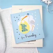 Personalised On the Day You Were Born Book Baby Boy