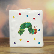 Very Hungry Caterpillar Personalised Bone China Message Card