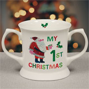 Hungry Caterpillar My 1st Christmas Personalised Loving Cup