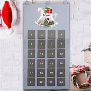 Personalised Fabric Rocking Horse Pocket Advent Calendar