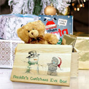 Personalised Me To You Tatty & Snowman Christmas Eve Box