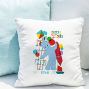 Personalised Iggle Piggle Hopscotch Childrens Name Cushion