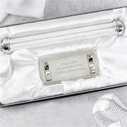 Engraved Birth Certificate Holder