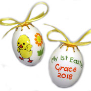 Personalised Easter Egg-Bauble