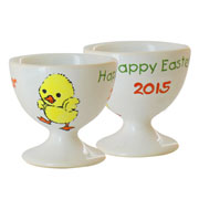Personalised Bone China Hand Painted Easter Egg Cup