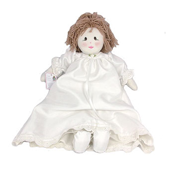 Embroidered Christening Doll