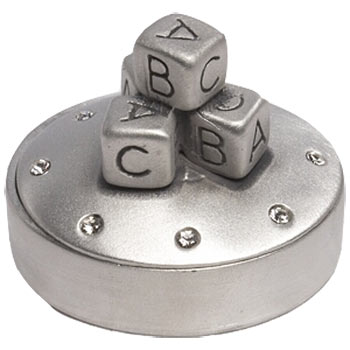 ABC Building Blocks Trinket Box from Metal Planet