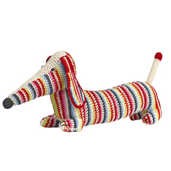 Crochet Dachshund by Anne-Claire Petit