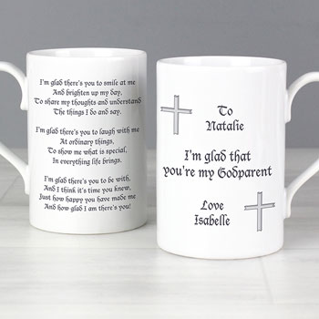 Personalised Godparent Mug