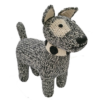 Crochet Terrier Dog by Anne-Claire Petit