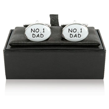 No. 1 Dad Cufflinks