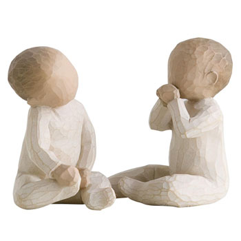 Willow Tree Figurine - Two Together Twins Gift