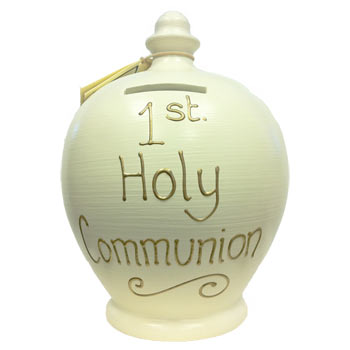 Personalised Terramundi First Holy Communion Money Pot