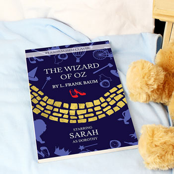 Personalised The Wizard of Oz Novel