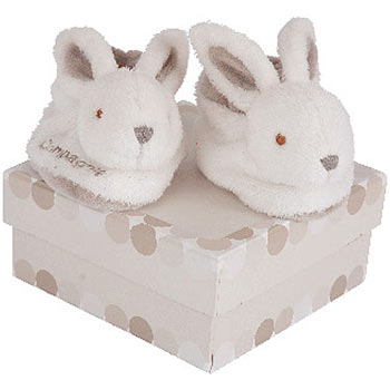 Rabbit Booties by Doudou et Compagnie