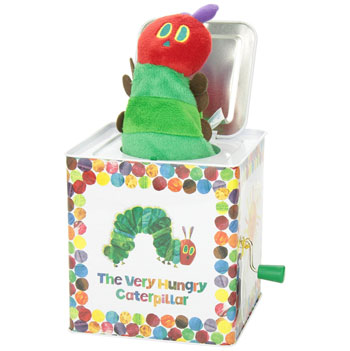 The Very Hungry Caterpillar Jack in a Box Toddler Toy