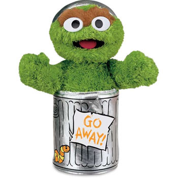 Oscar The Grouch by Gund