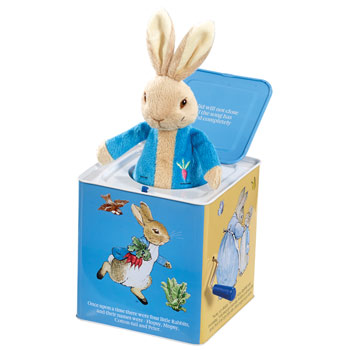 Peter Rabbit Jack in the Box Toy