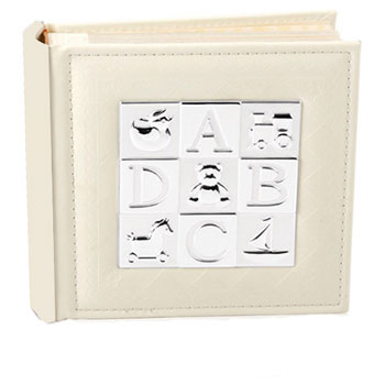 ABCD Silver Plated Photo Album