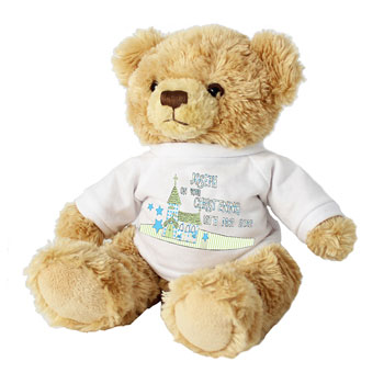 Personalised Church T-Shirt Teddy For Boy or Girl