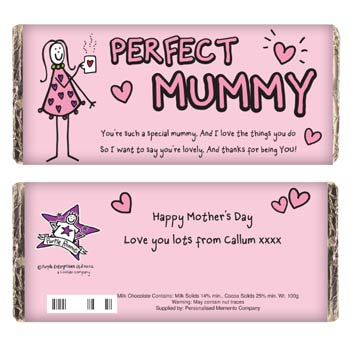 Purple Ronnie Perfect Mummy Chocolate - Free Delivery