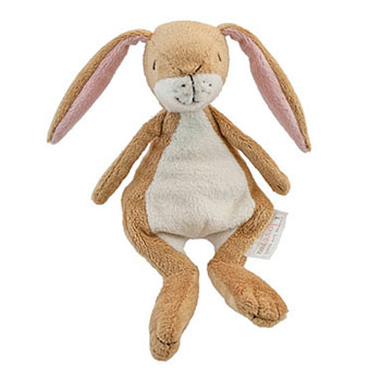 Little Nutbrown Hare Rattle Toy