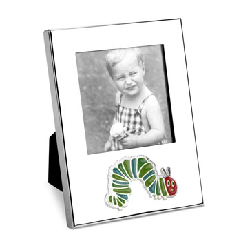 The Very Hungry Caterpillar Silver Plated Photo Frame