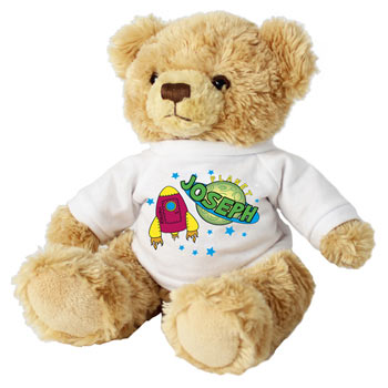 Personalised Children's Space Teddy Bear
