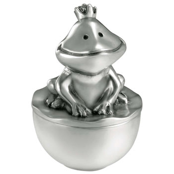 The Frog Prince Tooth Box by Royal Selangor Pewter