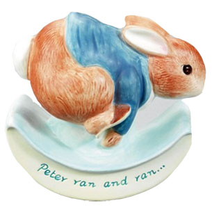 Peter Ran and Ran Rocking Ceramic Money Box Childrens Gift