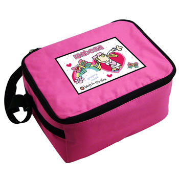 Bang on the Door Groovy Chick Personalised Lunch Bag