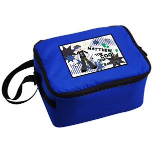 Too Cool Personalised Insulated Boys Lunch Sandwich Bag