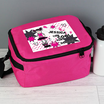 Too Cool Personalised Insulated Girls Lunch Bag