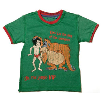 Jungle Book T Shirt by Fabric Flavours