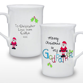 EXCLUSIVE - Merry Christmas Godfather Mug