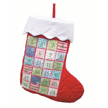 Giant Advent Calendar Stocking by Oskar and Ellen