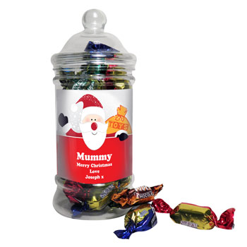 Personalised Traditional Jar of Toffees