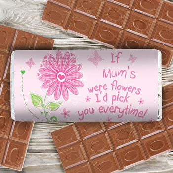Id Pick You Personalised Chocolate Bar