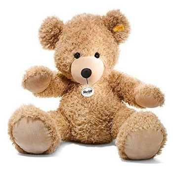Teddy Bear on Steiff Beige Big Fynn Teddy Bear 80cm