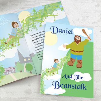 Children's Jack and the Beanstalk Personalised A4 Story Book
