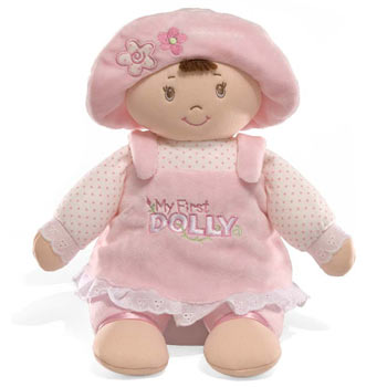 My First Dolly Brunette by Baby Gund