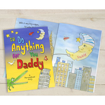 Personalised Id Do Anything for You Daddy Story Book