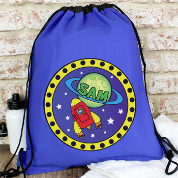Personalised Space PE Kit Bag