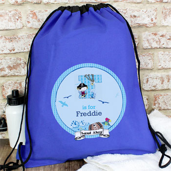 Personalised Pirate School PE Kit Bag