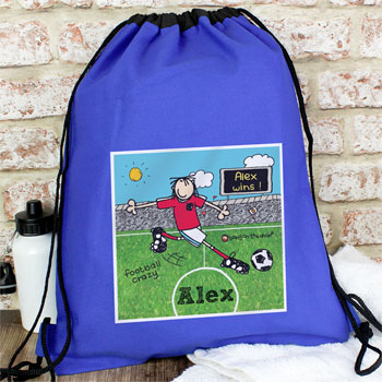 Bang On The Door Football Crazy PE Kit bag