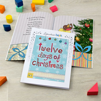 Personalised Twelve Days of Christmas Book