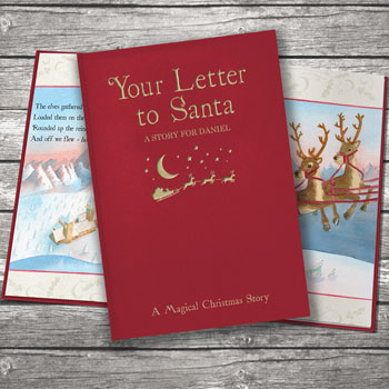 Your Letter to Santa Personalised Book Classic Edition