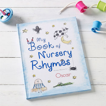 My Book of Nursery Rhymes Personalised Children's Book